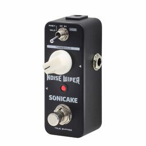 SONICAKE Noise Wiper True Bypass Noise Gate Guitar Bass Effect Pedal QSS-14