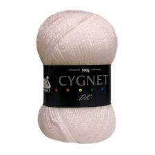 L52 Cygnet White Double Knitting Acrylic Yarn 10 X 100g Balls 1kg