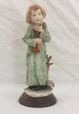Giuseppe Armani Figurine - Winter - #3483 - 1977 Capodimonte