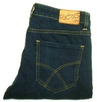 RIDERS BY LEE MENS BLUE JEANS MEASURED W30 X L34 R2 DRAINPIPE FREE POSTAGE