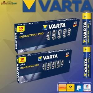 Varta Industrial Pro AAA AA Mignon Micro Batterie MHD 2029 1-100 Stück
