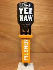 YEE HAW Brewing Co - Pilsner Tap Handle ~ Grain Silo ~ NEW & Free Shipn. ~ 11""