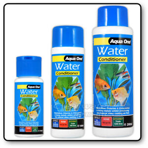 Aqua One TAP SAFE WATER TREATMENT CHLORINE CHLORAMINE FISH TANK AQUARIUM