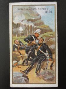 No.26 ZULU WAR (2) - VICTORIA CROSS HEROES (21-40) Taddy & Co 1901
