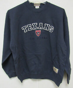NFL Houston Texans Blue Crew Neck Sweatshirt size X-Large by VF Imagewear