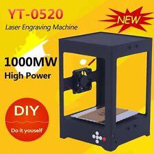 1000MW DIY Laser USB Alloy Cutter Engraving Carving Machine Printer CNC High US