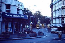 Kodak Kodachrome Slide Negative Uknown Tourist Information Centre Street Scene