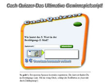 Cash Quizzer - Das Ultimative Gewinnspiel-Script! - PHP-Script
