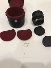 CANON FD 50mm 1:1.4 F/1.4 SSC S.S.C. Camera Lens With Case