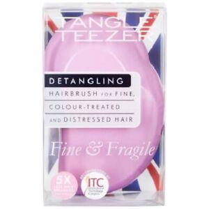 Tangle Teezer Fine and Fragile Detangling Hair Brush - Pink Dawn