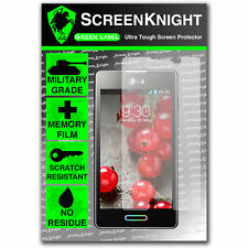 ScreenKnight LG Optimus L5 II SCREEN PROTECTOR invisible military shield front