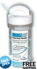 BRIDGEAID Dental Floss Threaders Bottle of 150 Threader