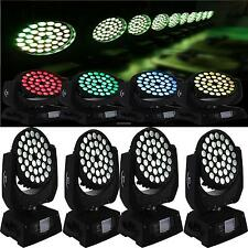 4x 360W 540° Moving Head Bühnenbeleuchtung LED Licht DMX DJ 36x 10W Lichter