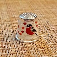 THIMBLE BULLFINCH sterling silver 925 Russia  # 45055014