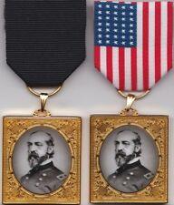 General George G. Meade Remembrance Civil War Medal w/2 Medal Drapes