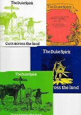 4 x THE DUKE SPIRIT - Cuts Across the Land (CD 2005) - vier VARIANTEN