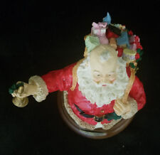 Jolly Old Santa Music Box By Roman (Jingle Bells)