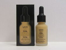 NYX Total Control Drop Foundation color TCDF08 True Beige 0.43 oz New In Box