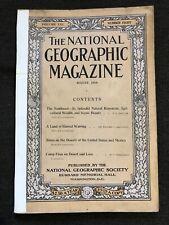 1910-08 August National Geographic SOUTHWEST US/Mexico DESERTS Labrador NM AZ CA