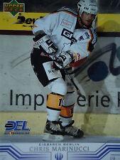 38 Chris Marinucci Eisbären Berlin DEL 2001-02