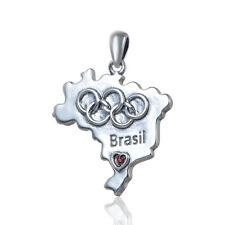 2016 RIO Collana Simbolo Olimpiadi estive, cimeli Olimpico, FASHION Jewellery