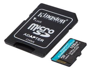 Kingston MicroSDXC Memory Card Canvas Go Plus 64GB 128GB 256GB Genuine