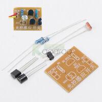 Light-Control Sensor Switch Circuit For Electronic Trainning Module DIY Kits
