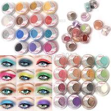 US 30 Colors Shimmer Pearl Loose Eyeshadow Powder Eye Shadow Make up Kits
