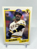 1990 Fleer Barry Bonds Pittsburgh Pirates #461 Baseball Card