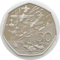 1994 British D-Day Landings 50th Anniversary 50p Fifty Pence Proof Coin