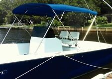 Carver Covers #55602 3 Bow Frame with #602A02 3 Bow Black Bimini Top