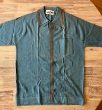Italian Knit In Men S Vintage Casual Shirts Tops For Sale Ebay