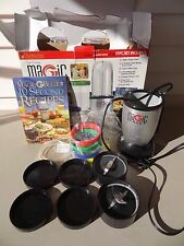 EUC Original Magic Bullet Hi-Speed Blender/Mixer System 17 Piece Set MBR-1701