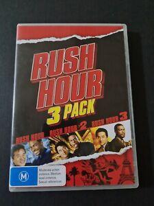 Rush Hour Triple Pack - Rush Hour  / Rush Hour 02  / Rush Hour 03 Dvd Region 4