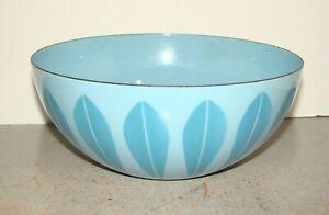 Vintage Cathrineholm Lotus Blue On Blue Bowl
