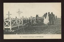Greece ZEYTENLIK Catholic Cemetery - victims of 1917 fire disaster? PPC