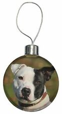 Staffordshire Bull Terrier Christmas Tree Bauble Decoration Gift, AD-SBT13CB