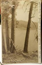 LITTLE BEAR LAKE, CALIFORNIA Photo Post Card 1919 Trinity Alps Wilderness