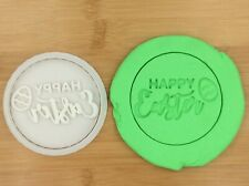 Easter Egg Hunt Cookie Fondant Stamp Embosser With Cutter Cake Biscuit  Mould