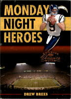 2006 Donruss Classics Monday Night Heroes #14 Drew Brees /1000 - NM-MT