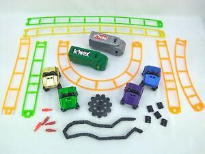 Bulk K'nex Coaster Pieces Pick Your Parts - Cars Tracks Chain - VOLUME DISCOUNTS