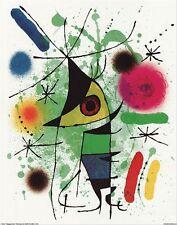 SINGING FISH - JOAN MIRO - FINE ART PRINT POSTER 13x19 - 14650X