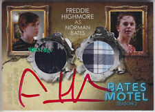 """2016 BATES MOTEL DUAL COSTUME AUTO: FREDDIE HIGHMORE - RED AUTOGRAPH """"NORMAN"""""""