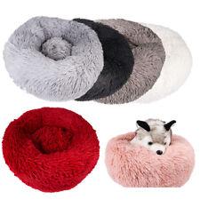 Soft Pet Dog Cat Kennel Calming Sleeping Bed Nest Soft Plush Blanket Comfortable