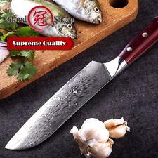 Santoku Knife Japanese Kitchen Knife vg10 Japanese Damascus Steel Chef Cooking