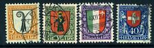 SWITZERLAND-1923 Pro Juventute set Sg J24-27 FINE USED V18123