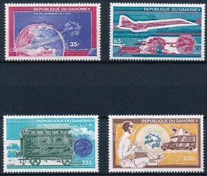 [P16036] Dahomey 1974 : Transportations - Good Set Very Fine MNH Air Stamps
