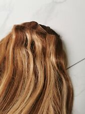 Human Hair Extensions mixed bits of Copper & Blonde