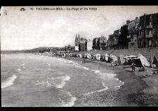 VILLERS-sur-MER (14) TENTES de PLAGES & VILLAS période 1920-1930