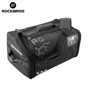 ROCKBROS Cycling Triathlon Gym Bag w/ Rain Cover Waterproof Fitness Sports Bag